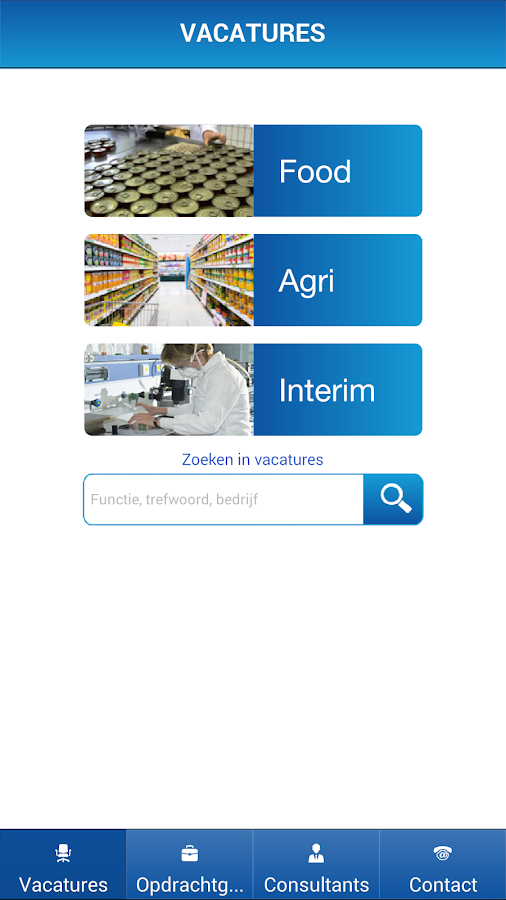 CeresRecruitment, Food & Agri: screenshot