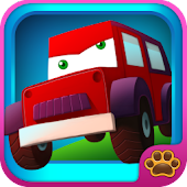 Line Game for Kids:Vehicles