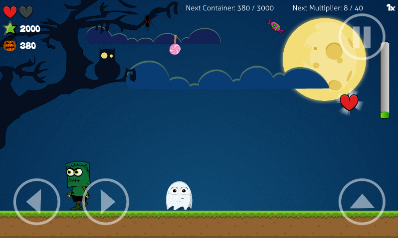 Greest: The Halloween Ghost - screenshot