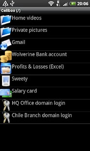 CellBox Lite Password Manager - screenshot thumbnail