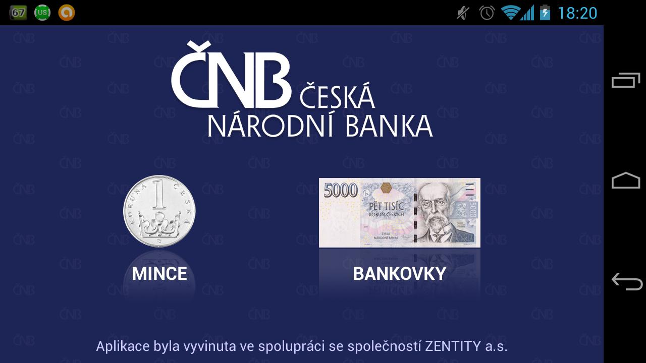 Czech money - screenshot