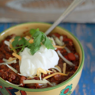 Hearty Slow-Cooker Bulgur Chili.