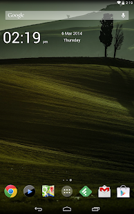 Simple Time Widget - screenshot thumbnail