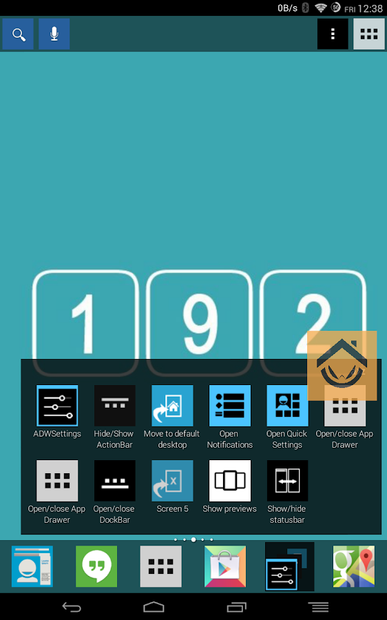 192 Square Lite Theme - screenshot