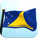 Tokelau Flag 3D Live Wallpaper icon