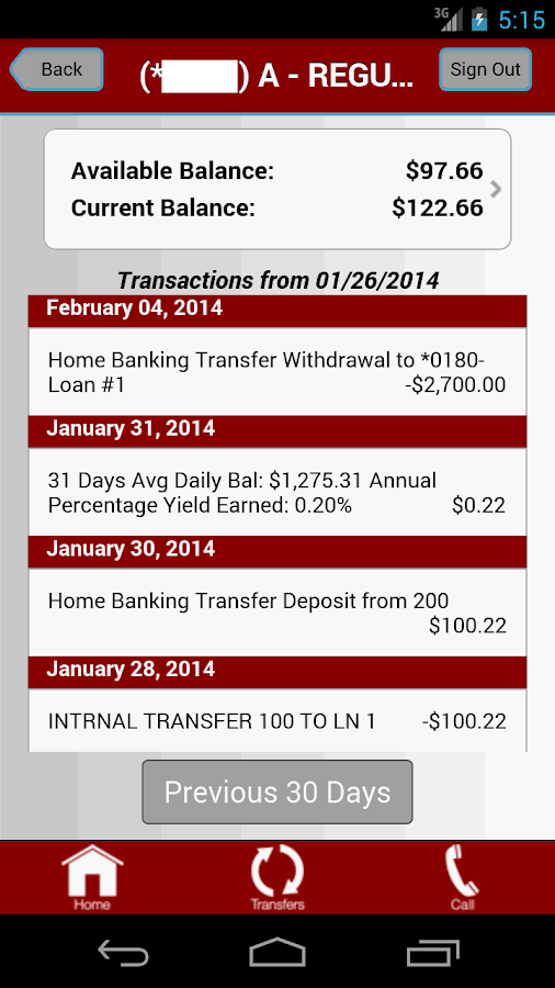 Its My Cu Mobile Banking- screenshot