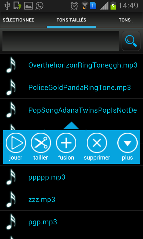 Mp3 coupe applications android sur google play - Application couper musique ...