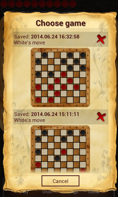 Checkers - Online- screenshot