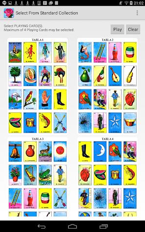 Chalupa Mexican Loteria Screenshot