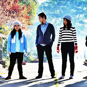 It's Winter Now!!! by Sai Aung Thant Zin - People Group/Corporate ( #friends #people #clothings #fashion #winter #cold #group #travel )
