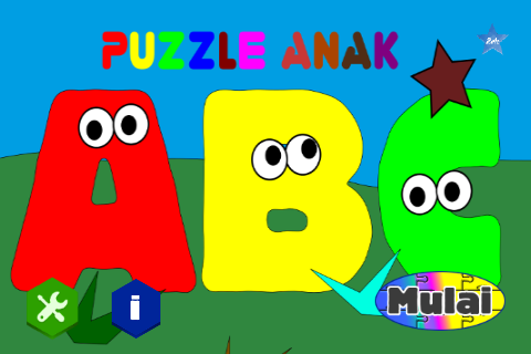 Puzzle Anak - Belajar ABC