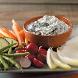Cool and Creamy Spinach Dip.