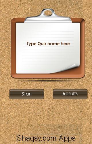 Shaqsy Quiz