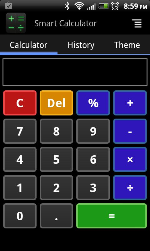 Smart Calculator - screenshot
