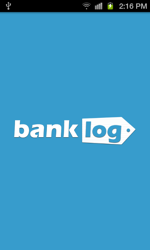 Banklog- screenshot