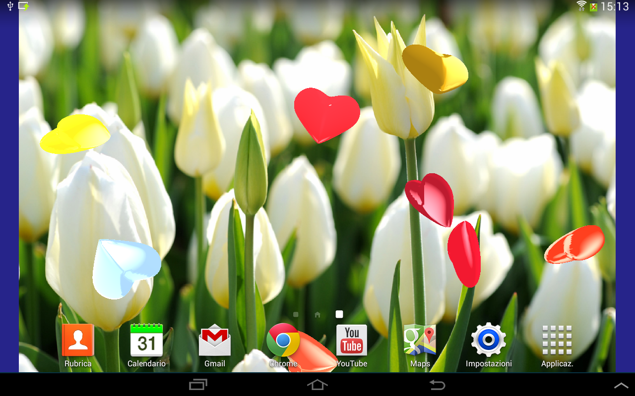 Hearts 3D Live Wallpaper Free- screenshot