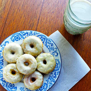 Lemon Poppy Seed Mini Donuts