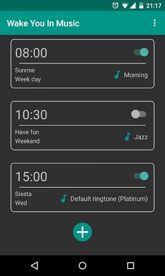 Wake You In Music - screenshot