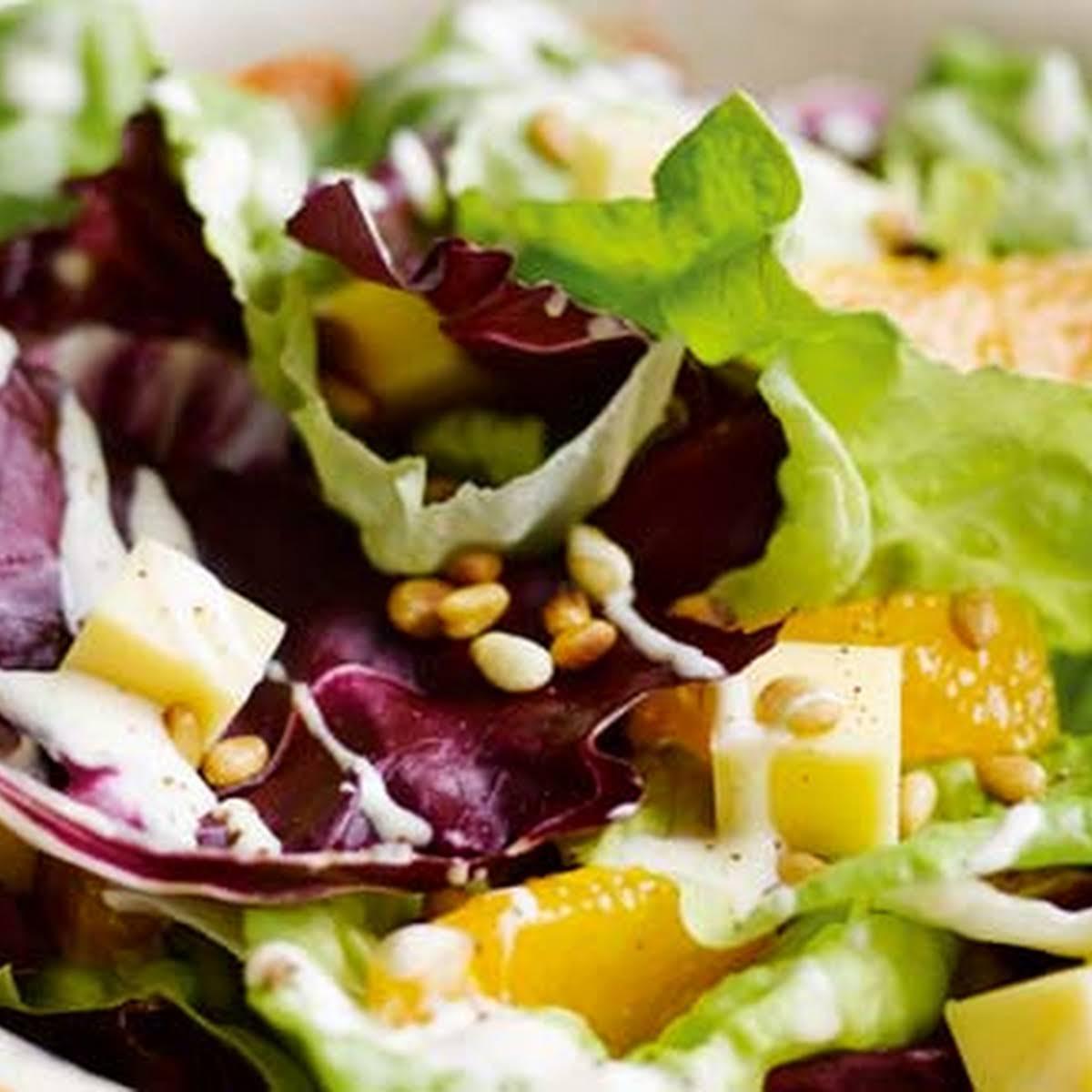 Cheddar And  tawny Salad