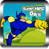 Superhero 8 bits legends