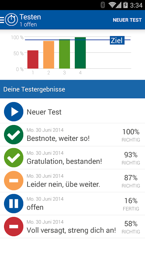 iTheorie Mofa Premium Schweiz - screenshot