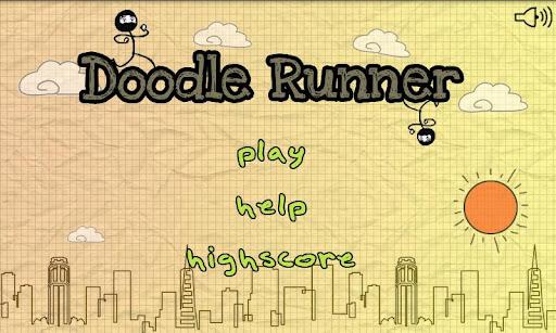 Doodle Runner & Jump v1.0