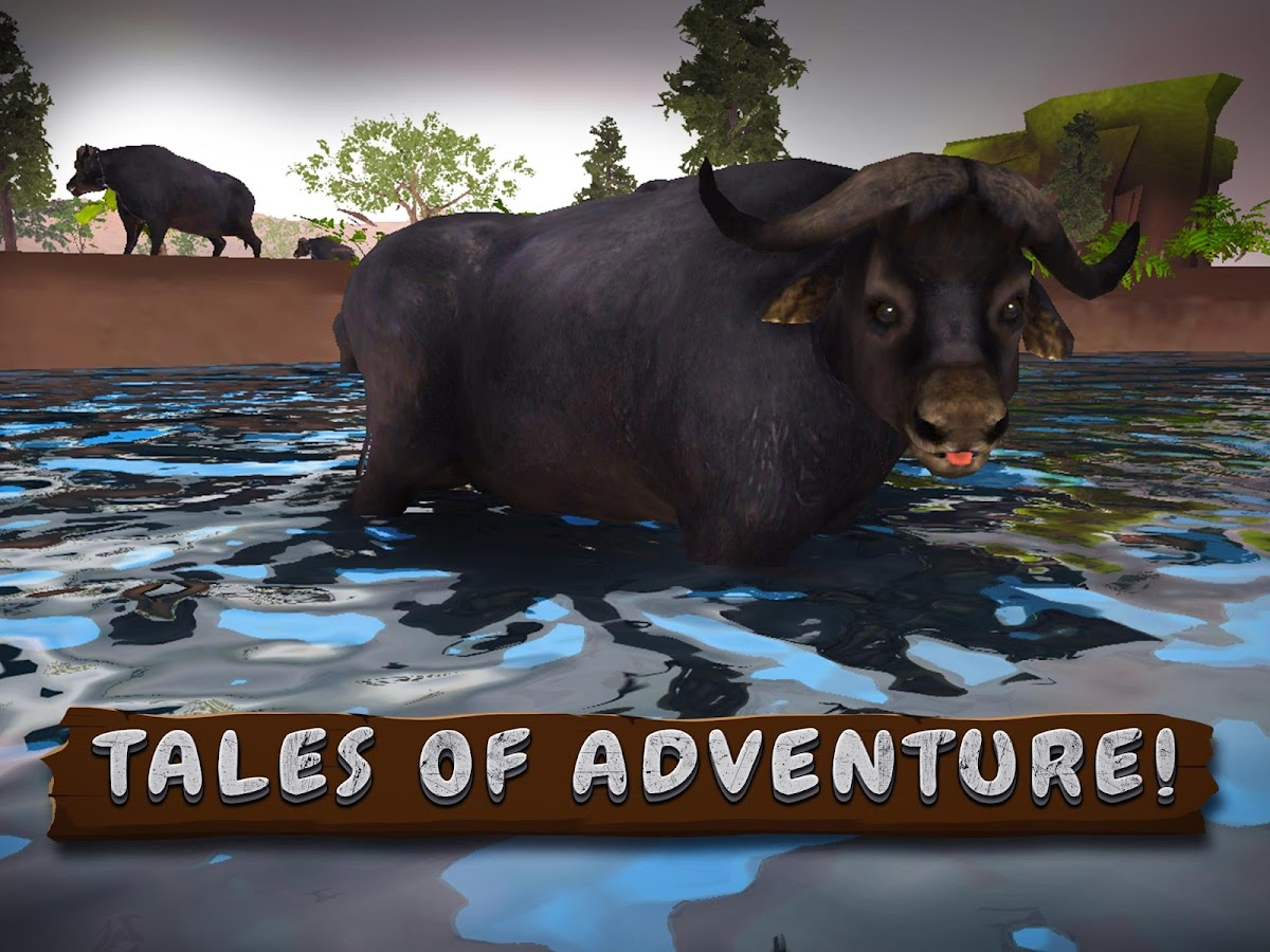 Wild Buffalo Simulator 3D Apl Android Di Google Play