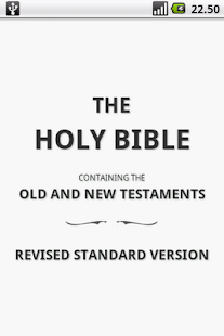 Holy Bible (RSV) - screenshot thumbnail