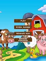 Screenshot of 2048 Kids - Barnyard