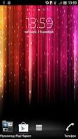 Screenshot of Rainbow colors Live Wallpaper
