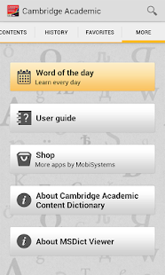 Cambridge Academic Content TR - screenshot thumbnail