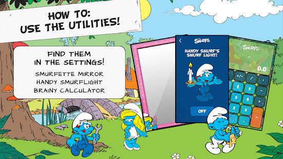 玩娛樂App|The Smurfs' New Live Wallpaper免費|APP試玩
