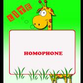 Homophones Lite