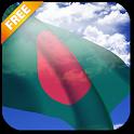3D Bangladesh Flag LWP icon