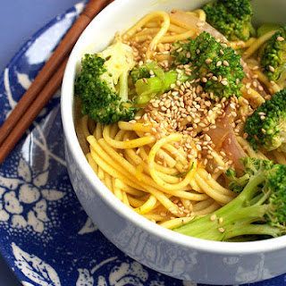 Broccoli Curry Udon.
