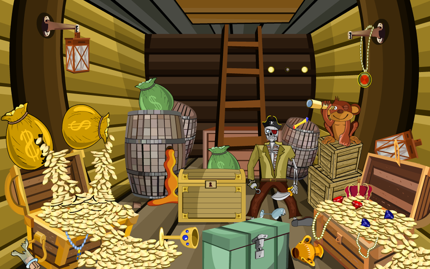 3d escape games puzzle pirate 1 android apps on google play for Escape puzzle