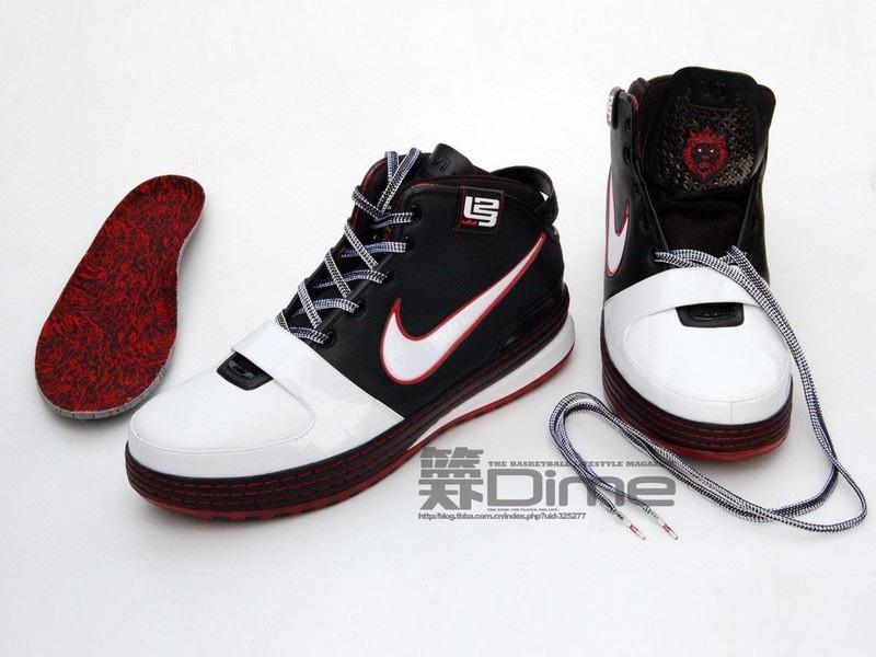 Fresh Look at the Initial Nike Zoom LeBron VI Colorway  e4b254656c