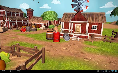 Cartoon Farm 3D Live Wallpaper screenshot 10