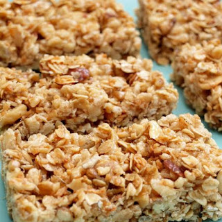 Crispy Honey Nut Granola Bars