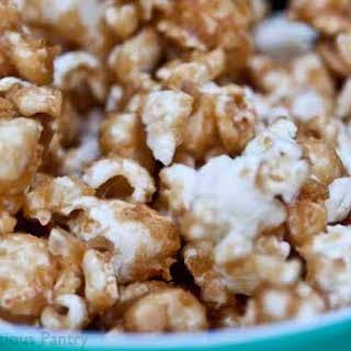 Clean Eating Caramel Popcorn.