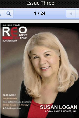 REO Agent Magazine- screenshot