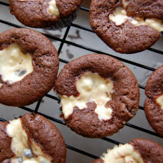 Chocolate Cream Cheese Cupcakes.