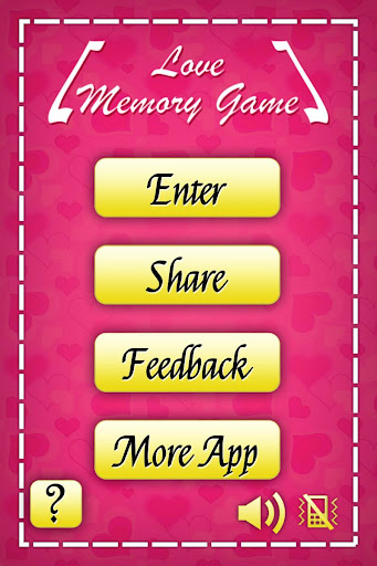Memory Game for Lovers
