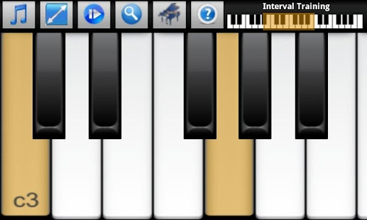 Piano Interval Training - screenshot thumbnail