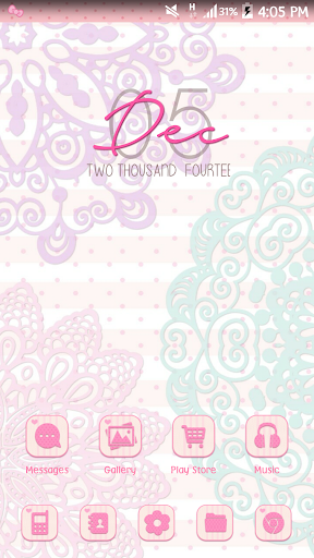 Chic Style Go Launcher