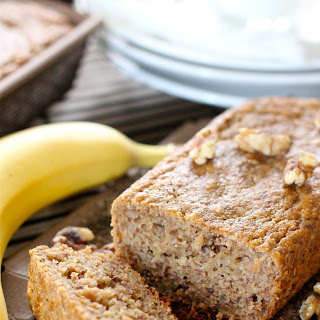 Whole Grain Banana And Walnut Bread
