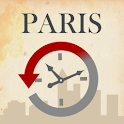 Paris, Then and Now City Guide logo