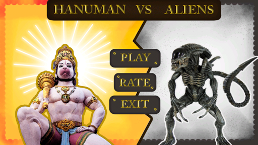 Hanuman Vs Aliens