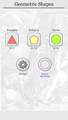 Geometric Shapes: Triangles & Circle Geometry Quiz 2.0 screenshots 9