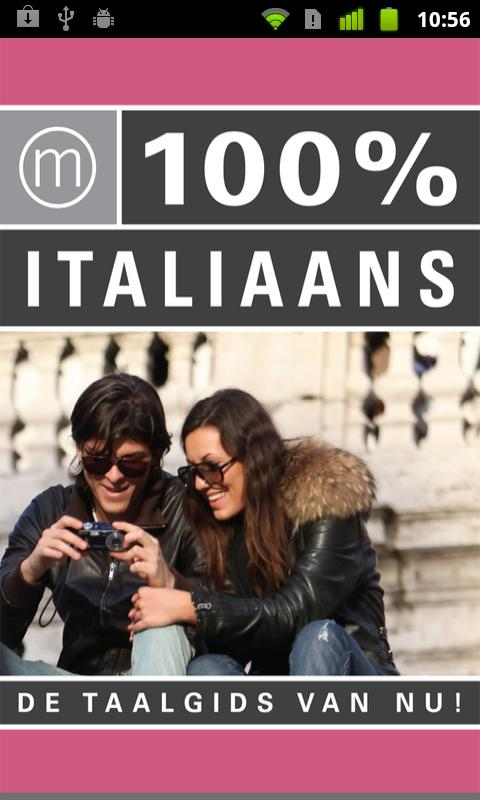 100% Italiaans - screenshot